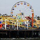 Santa Monica Pier by Clayton Bruster