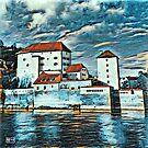 Donau, Passau, Germany by JimPavelle