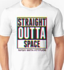 CMYK Straight Outta Space 2 T-Shirt