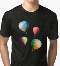 Hot Air Balloons! Tri-blend T-Shirt