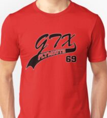 69 Plymouth GTX - White Outline T-Shirt