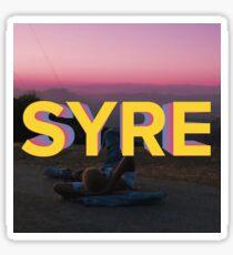 S Y R E Sticker