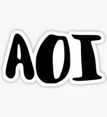 Aoi Sticker