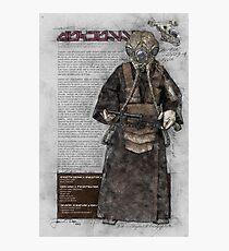 Zuckuss (Bounty Hunter Series) Photographic Print