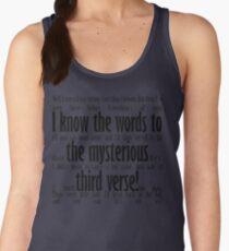 Mysterious Third Verse Women's Tank Top