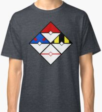 Pokeball Hazard Diamond Classic T-Shirt