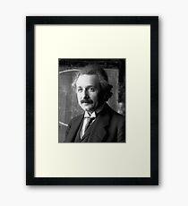 Albert Einstein Portrait  Framed Print