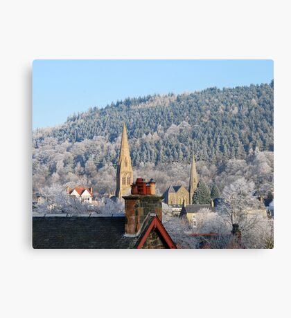 spires Canvas Print