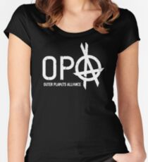 RETRO XE361 Opa The Expanse Best Product Women's Fitted Scoop T-Shirt