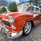 Molten Orange Chevrolet by Adam Bykowski