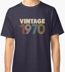 Vintage 1970 - 48th Birthday Classic T-Shirt