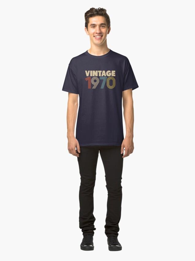 Alternative Ansicht von Jahrgang 1970 - 48. Geburtstag Classic T-Shirt