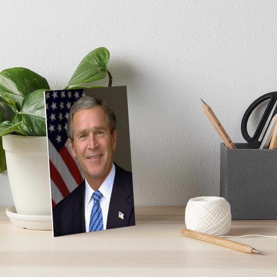 George W Bush Portrait by prodesigner2