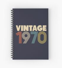 Jahrgang 1970 - 48. Geburtstag Spiralblock