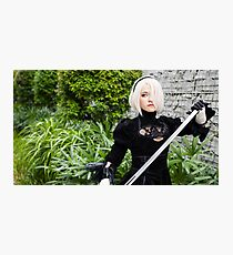 2B Cosplay Photographic Print