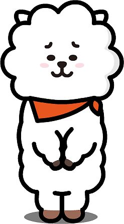 Quot Bt21 Rj Quot Stickers By Dtowns Redbubble