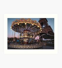 Fun in Paris Art Print