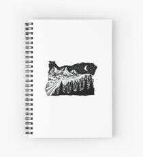 Cuaderno de espiral Oregón