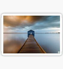Crawley Edge Boatshed Sticker