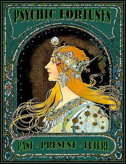 """PSYCHIC FORTUNES : Vintage Gypsy Fortune Teller"