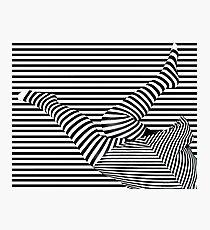 Striped! Photographic Print