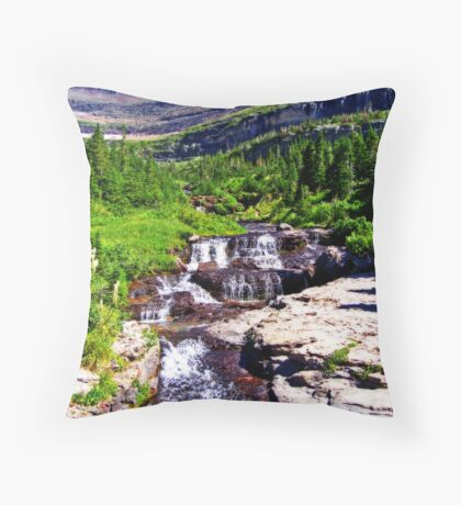 Glacier 8 - Orton Series Throw Pillow