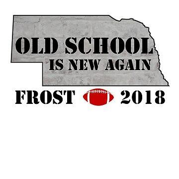 FROST TEES | FROST OLD SCHOOL NEBRASKA FOOTBALL TRADITION COACH T-SHIRT by myshirtshopllc