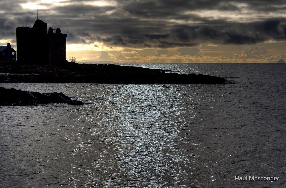 Portencross Castle by Paul Messenger