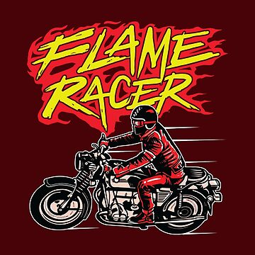Flame Racer by asteriongraphic