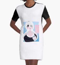 bleh Graphic T-Shirt Dress