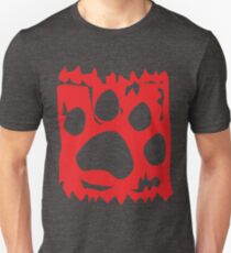 The Art of Woof: Red Unisex T-Shirt