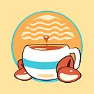 Sunset coffee  by MadGear