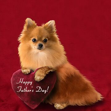 Father's Day Pomeranian by jkartlife