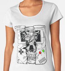 Gameboy Skull Women's Premium T-Shirt