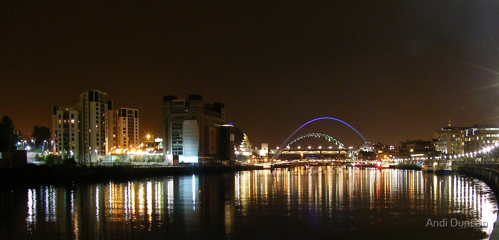 The Tyne By Night by Andi Duncan
