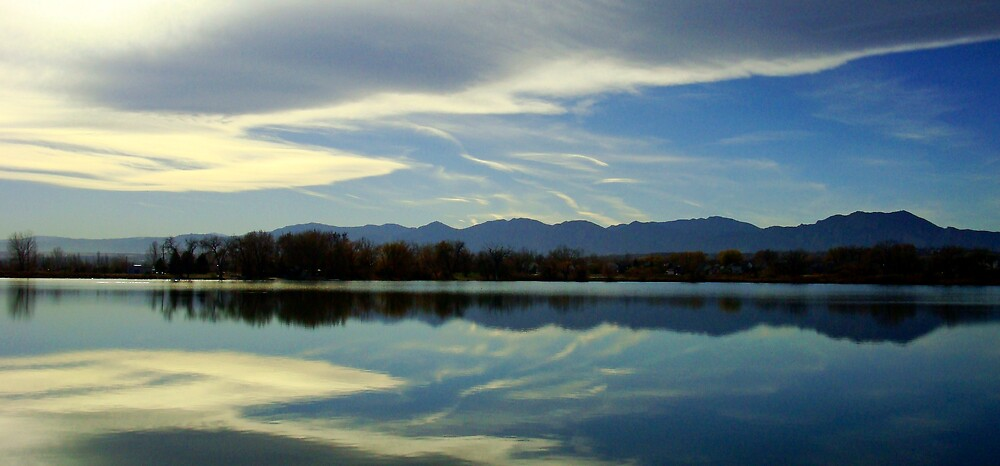 Lake Reflection by Virginia Maguire