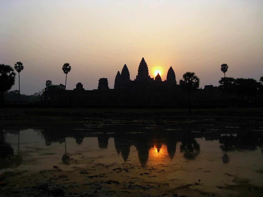 Angkor Wat at sunrise by mypics4u