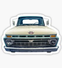 Vintage Ford Pickup Truck Sticker