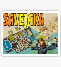 SAVE JAK 4 Sticker