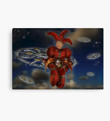 TheCosmicFool.Wisdom Canvas Print