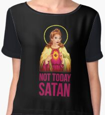 Bianca Del Rio Not Today Satan - Rupaul's Drag Race Chiffon Top