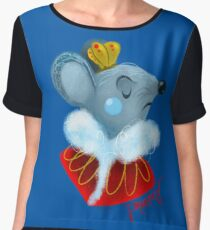 Mouse King Chiffon Top
