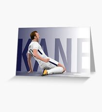 Harry Kane Greeting Card