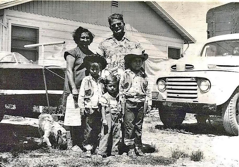 My family in 1952 by Edward Henzi