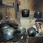 Pots and Pans, Sek, Nepal by wiggyofipswich
