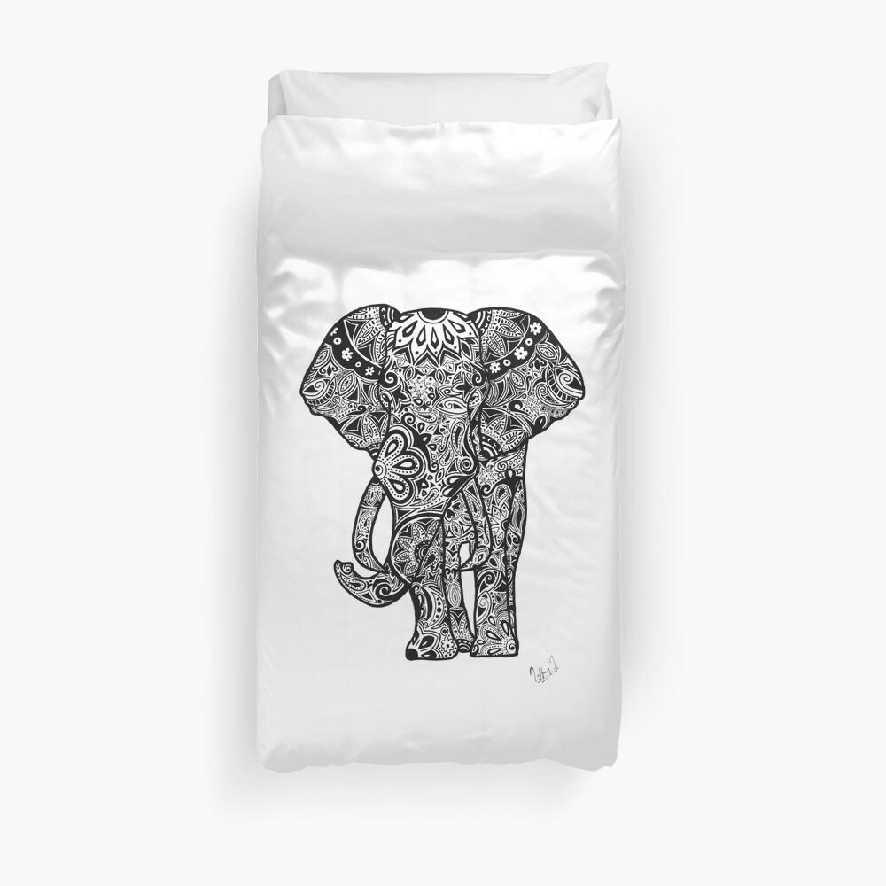 Tribal Elephant Bettbezug