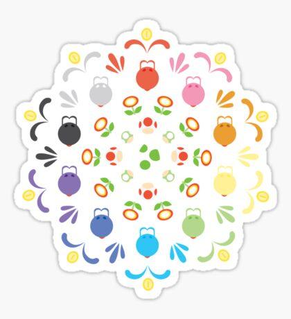 Yoshi Prism Sticker