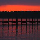 Colonial Beach Scenic by Clayton Bruster