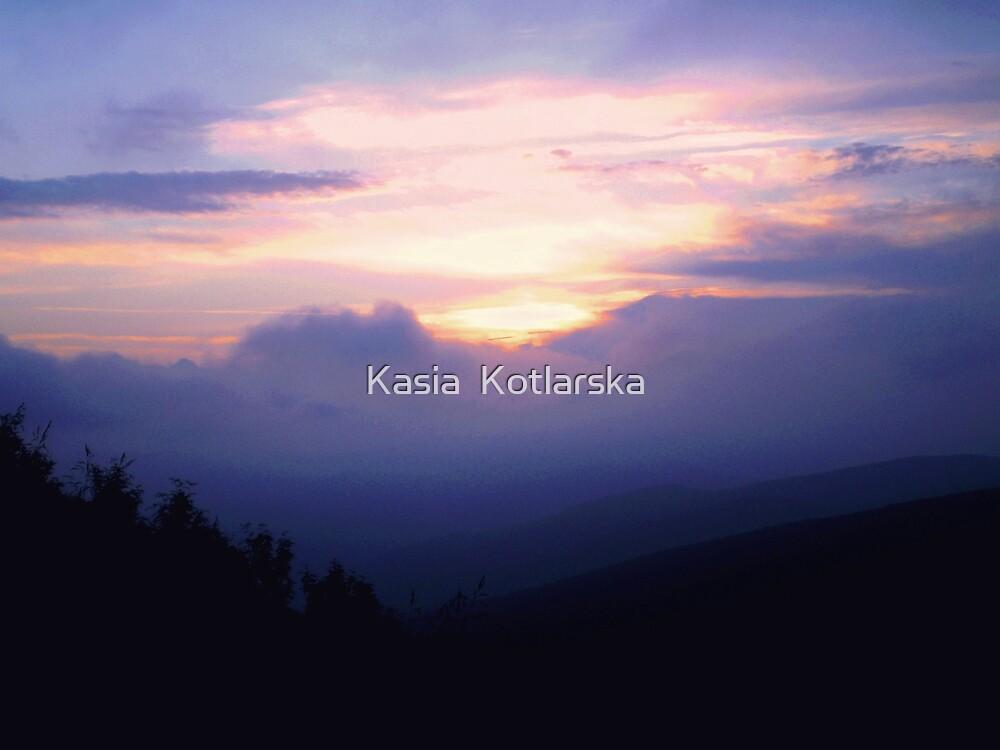 Purple fog by Kasia  Kotlarska