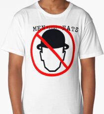 Men Without Hats Long T-Shirt